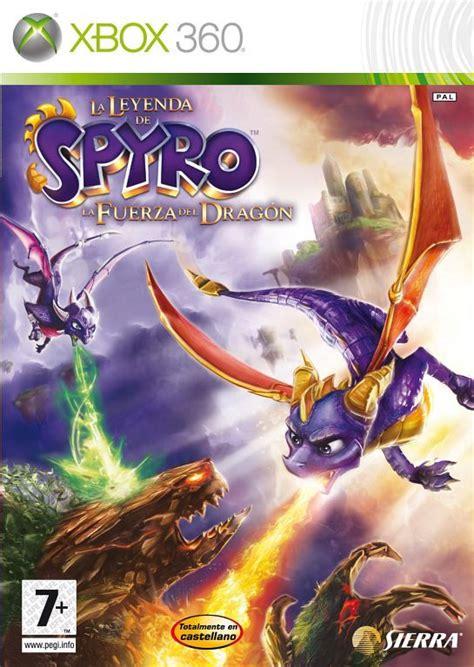 la leyenda de spyro la fuerza del dragon  xbox