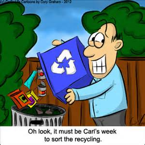 Halloween Jokes Adults Pictures by When It S His Week To Recycle Cartoon Mommy Moment