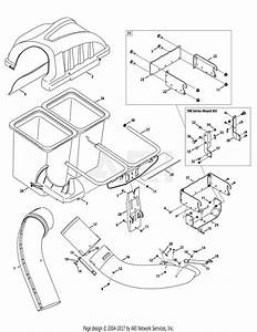 Mtd 19a30003oem Twin Rear Bagger  2009   19a30003000  2009  Parts Diagram For General Assembly