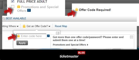 ticketmaster verified fan code presale ticket tips and tricks presale codes