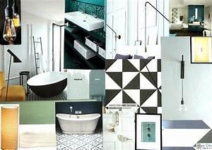 Ambiance Salle De Bain : planche d 39 ambiance pour une salle de bain style ~ Melissatoandfro.com Idées de Décoration