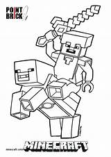 Minecraft Coloring Pages Steve Printable Getcolorings sketch template