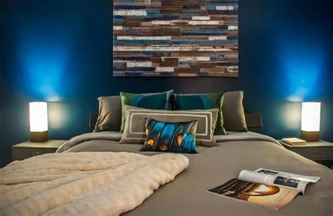 chambre deco bleu couleur pour chambre à coucher 111 photos pour s 39 inspirer