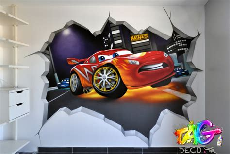 couleur peinture chambre ado decoration chambre ado graffiti