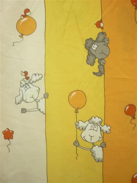 Kinderzimmer Deko Stoff by Deko Stoff Gardine Vorhang Kinder Wei 223 Gelb Orange Schafe
