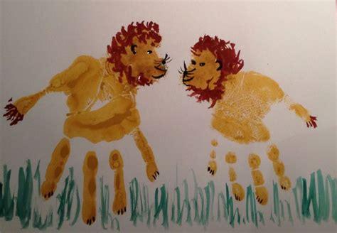 Herbstdeko Basteln Herbstliche Lions by Handabdr 252 Cken Nettetipps De