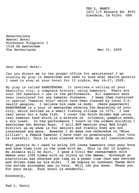 letters from a nut ted l nancy new letters from a nut hamsterdam 23323