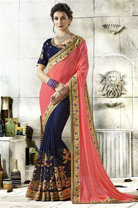 Party Wear Indian Sarees Online 2018 Catlog Manufacturer