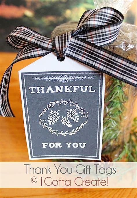 gotta create thankful   gift tag