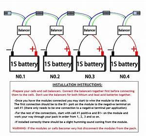 12v 4s Battery Voltage Balancers For 12v Lifepo4 Lithium Batteries