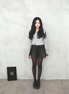 Tenue A La Mode : collants asian pantyhose outfit jupe patineuse tenue ~ Melissatoandfro.com Idées de Décoration