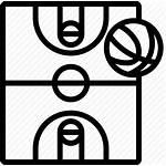 Basketball Court Icon Icono Gratis Ball Cancha