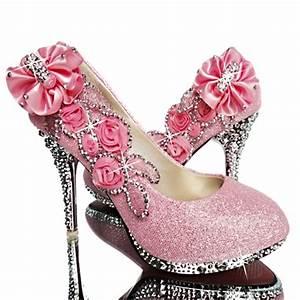 Weiße Schuhe Damen Hochzeit : brautschuhe hochzeits schuhe abends kristall blume damen braut pumps hochzeit ebay ~ Eleganceandgraceweddings.com Haus und Dekorationen