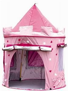 Tente Interieur Enfant : une tente de princesse parfaite pour l int rieur et l ext rieur cabane ~ Teatrodelosmanantiales.com Idées de Décoration