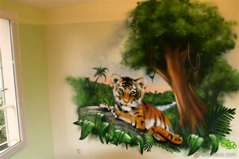 deco jungle chambre chambre jungle