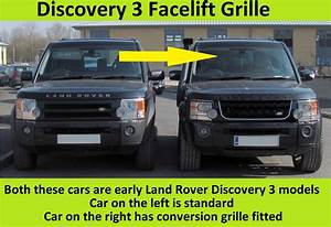 Discovery 3 : black chrome chrome disco 4 facelift style front grille land rover discovery 3 ebay ~ Gottalentnigeria.com Avis de Voitures