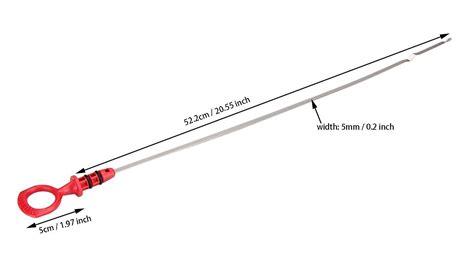 engine oil dipsticks  level indicator  volvo