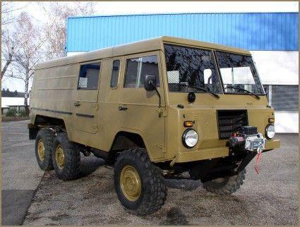 swedish military volvo ctgb   alu zinc body