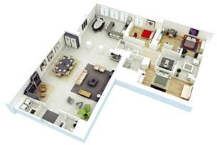 house with inlaw suite 25 more 3 bedroom 3d floor plans