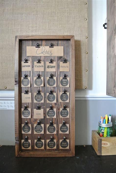 pin  jamie beck  zack chore chart kids woodworking