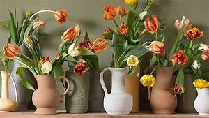 Tulpen In Vase : tipps zur pflege von tulpen in der vase f r eine l ngere bl tezeit ~ Orissabook.com Haus und Dekorationen