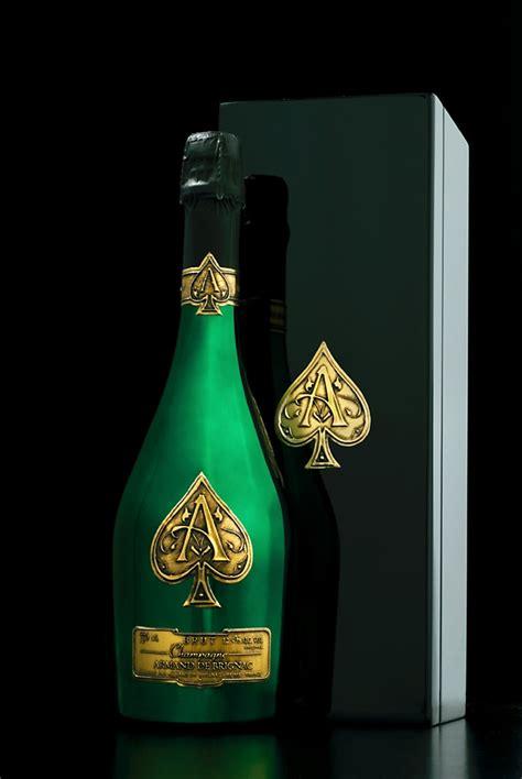 limited edition armand de brignac bottle awarded