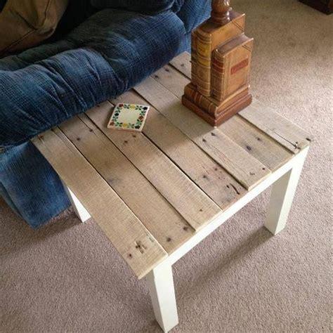 table basse en palette facile meubles en palettes quelques id 233 es bricolage facile