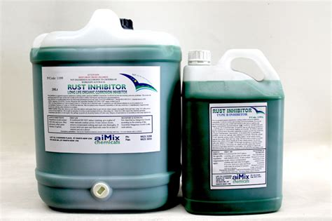 inhibitor rust chemicals corrosion