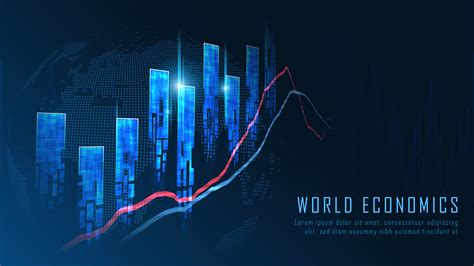 Stock market or forex trading graph concept - Download ...