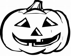 Pumpkin Clip Art Black And White - Cliparts.co