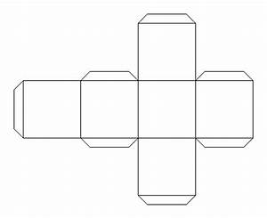 3 d shapes With 3 dimensional cube template