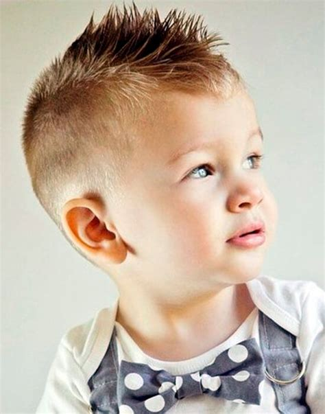 Kid Mohawk Hairstyles by Mini Mohawk Cool Haircut For Boys Hair For Baby Boy In