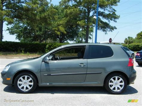 volkswagen rabbit  door  sage green metallic photo