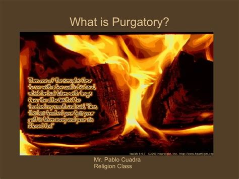 What Is Purgatory?
