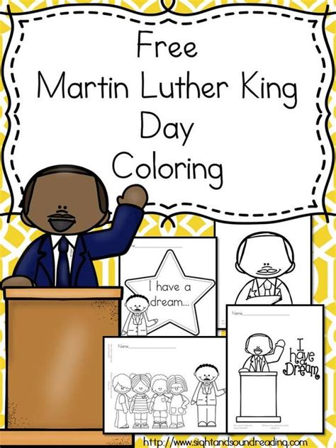 free martin luther day coloring pages kindergarten
