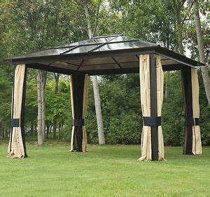 Pavillon 6 Eckig : luxus pavillon gartenzelt gartenpavillon 6 eckig lichtdurchl ssiges pc dach ebay ~ Indierocktalk.com Haus und Dekorationen