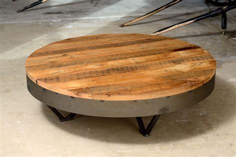 "Eucalyptus wood low outdoor coffee table: Custom Reclaimed Barn Wood Coffee Table 36"" Round - 48 ..."