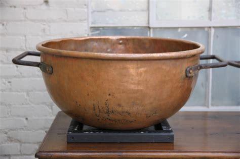 pair   century copper cooking vats  sale  stdibs