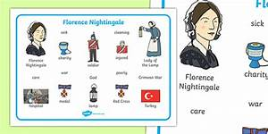 Florence Nightingale Word Mat - Florence Nightingale, word mat