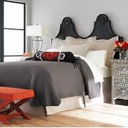 Red Black Grey White Bedroom by SANDRA VENDITTI T200 COTTON NOIL SILK DUVET WHITE
