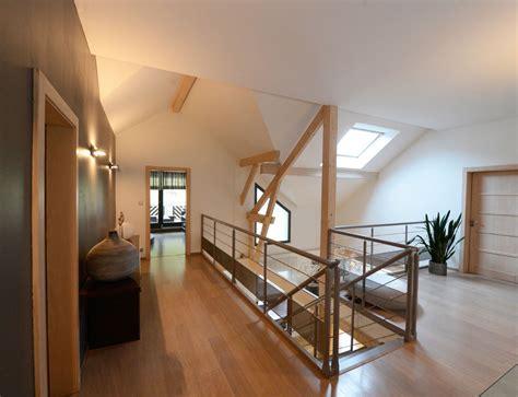 exemple cuisine maison d 39 architecte bois avec charpente apparente nos