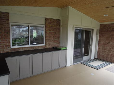 cabinets countertop on covered deck west chester oh area