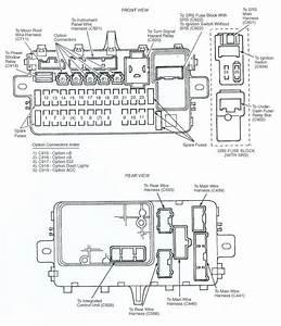 1994 Civic Fuse Box Diagram