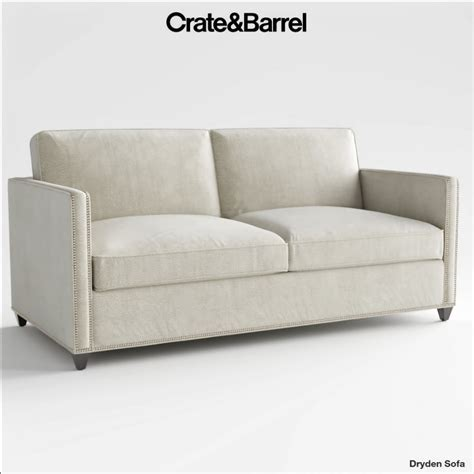 Crate And Barrel Sleeper Sofa Reviews by Crate And Barrel Dryden Sleeper Sofa 3d Model Cgstudio