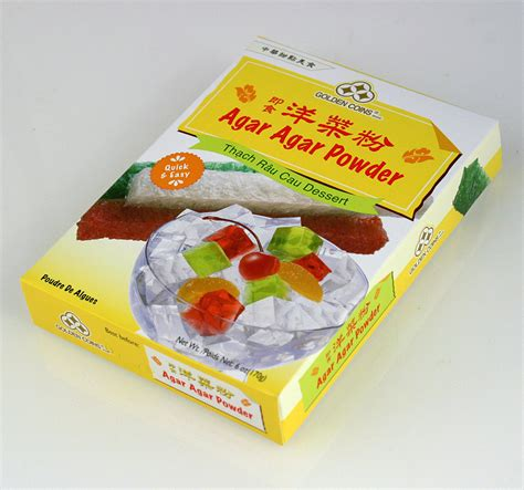 agar agar cuisine agar agar powder 6 oz 170g product of usa easy to