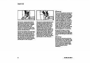 Stihl Ms 460 Chainsaw Owners Manual