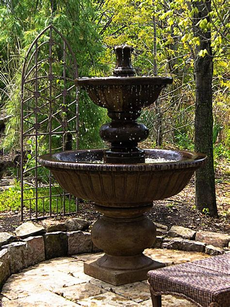Large Outdoor Fountains  Free Shipping On All Big Water