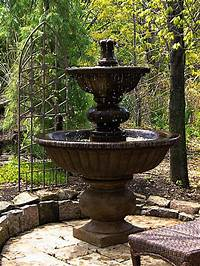 outside water fountains Large Outdoor Fountains | Free Shipping on all Big Water ...