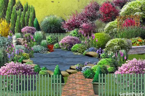jardin 224 l anglaise gardenpuzzle garden planning tool