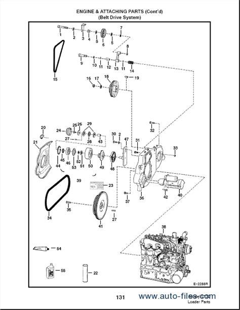 Bobcat 863 Part Diagram by Bobcat S130 Spare Parts Catalog Repair Manual